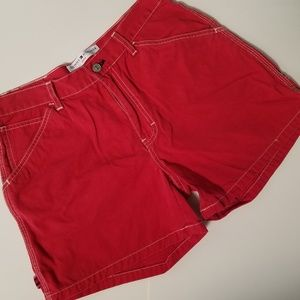 Tommy Hilfiger Jeans Red Jean Shorts